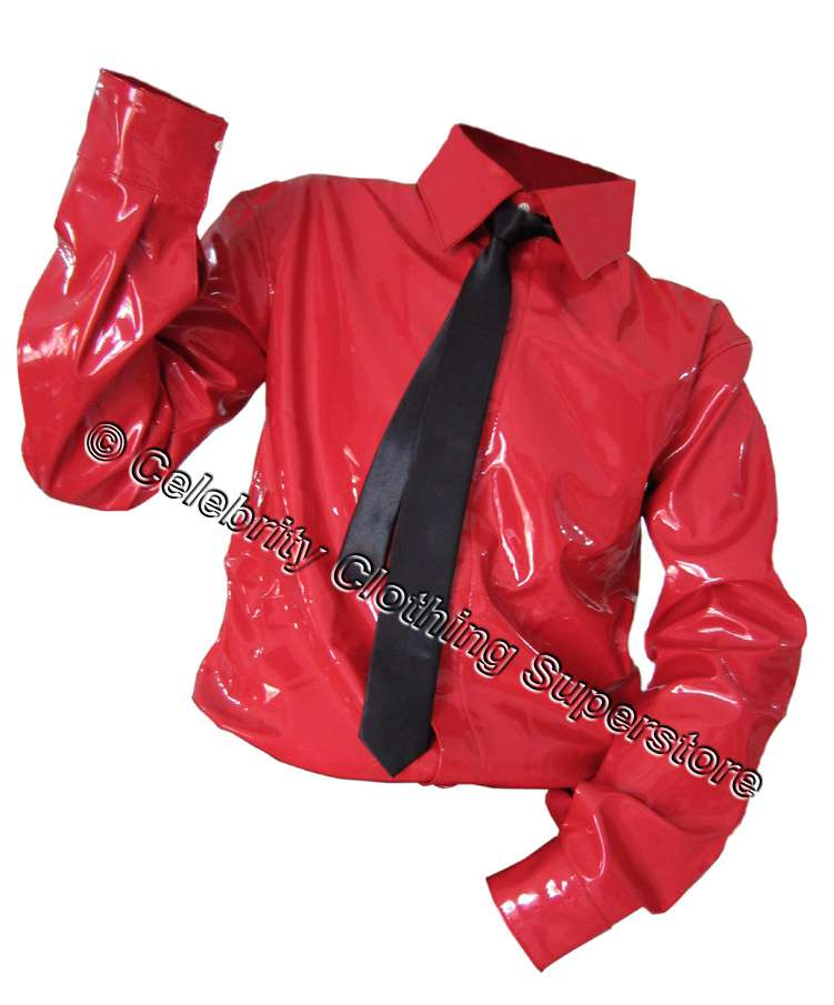 http://www.michaeljacksoncelebrityclothing.com/MJ-Pics/Michael%20Jackson%20Red%20PVC%20Dangerous%20Shirt/mj-red-dangerous-pvc-shirt.jpg