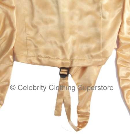 Michael Jackson Dangerous Tour Bodie de Ouro Back-MJ-Gold-Leotard