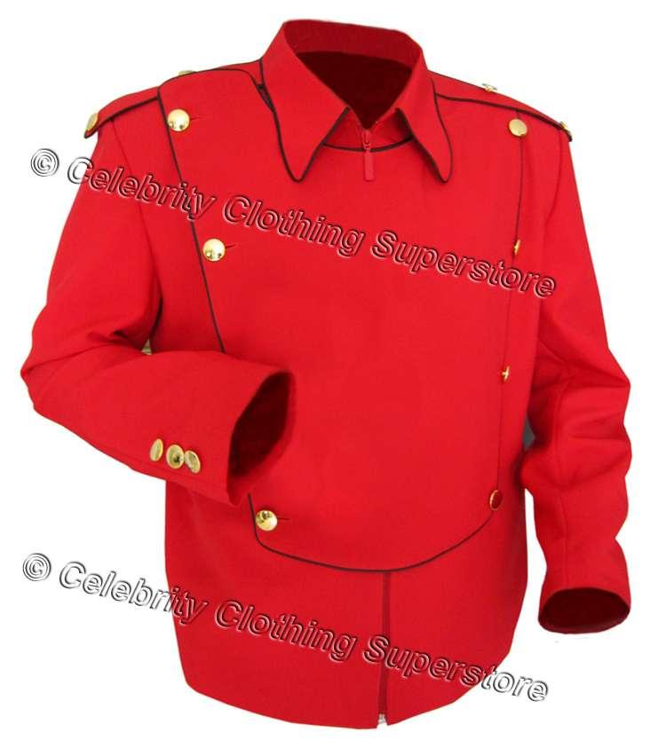 /MJ Pics/michael jackson military jackets/MJ red military jacket