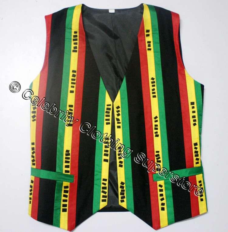 MJ Michael Jackson Olodum Waistcoat vest