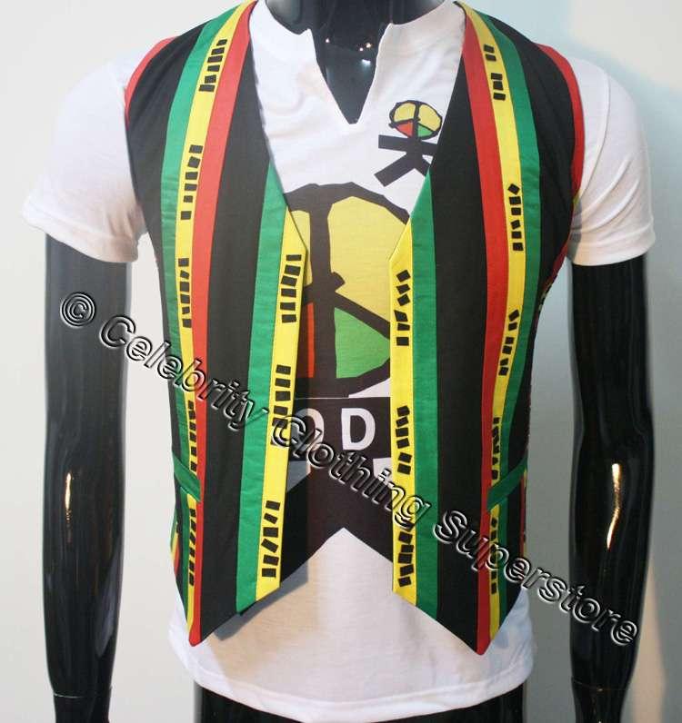 MJ Michael Jackson Olodum Brazil MV Retro Anti-war They don't care about us Vest for Peace