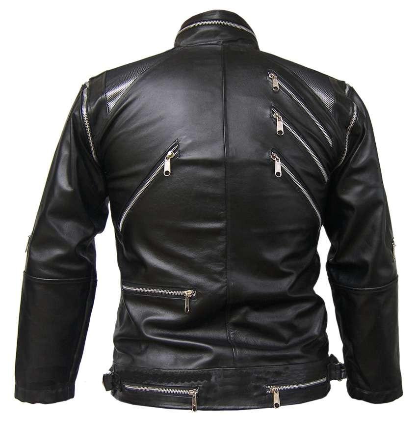 MJ leather black beat it jacket - Mont ve Kap�on Modelleri