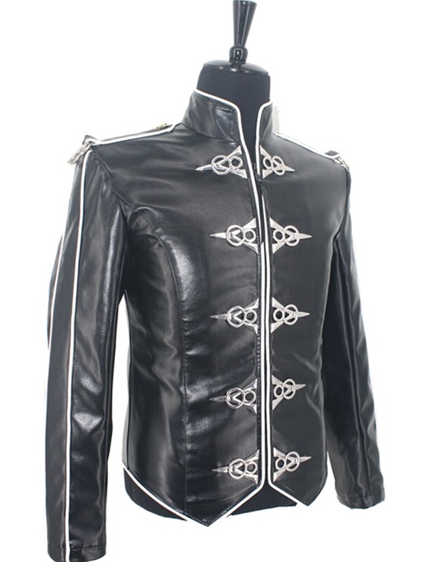 Michael Jackson V8 Leather Jacket