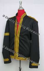 Black Military Casual Dress Jacket - Pro Series