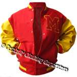 Varsity Jacket (Real Leather Sleeves) Pro Series