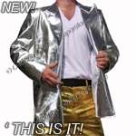 'This Is It ' Shining Silver Jacket - Pro Series