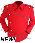 .MJ Custom RED Military Jacket - Pro Series