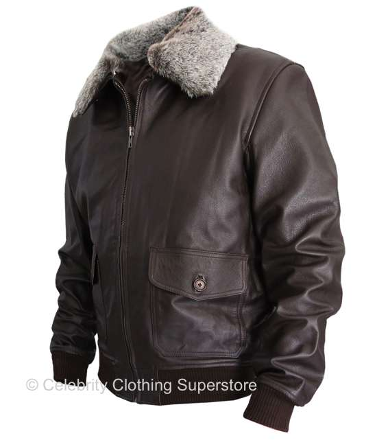 Military Leather Jackets For Men