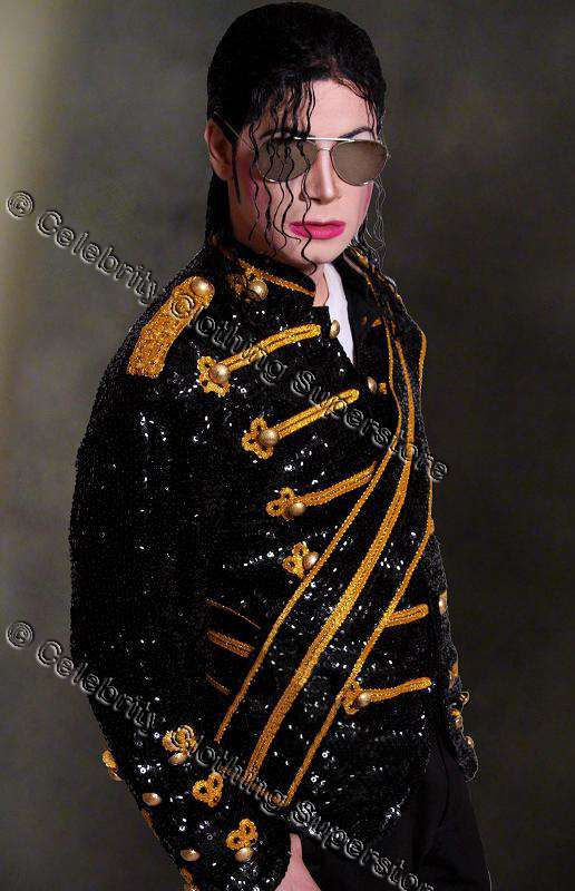 Michael Jackson Celebrity Clothing Superstore Catalog ...